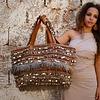 Hamimi Hamimi Khenifra Overnight Bag  - Cognac & Henna