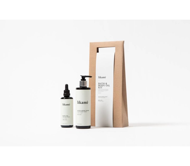 Likami Bath & Body oil kit