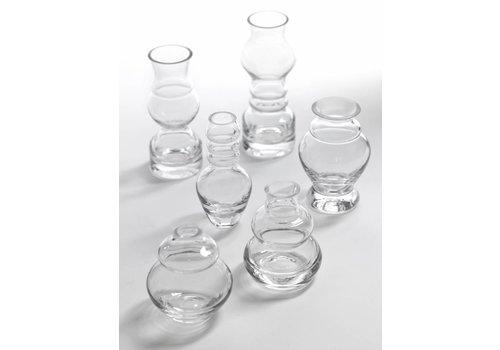 Serax Vases petites Serax Mini claires rene barba  ASS/6 H 7 TO 12cm