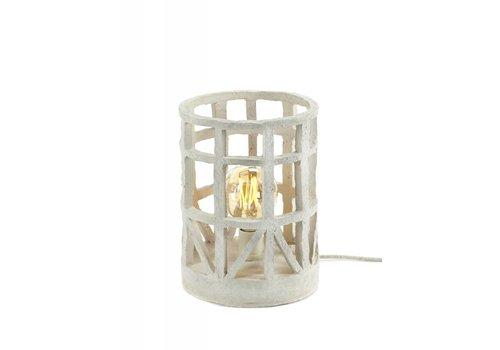Serax Marie Michielsen standing lamp papier Mache beige S D23 H27