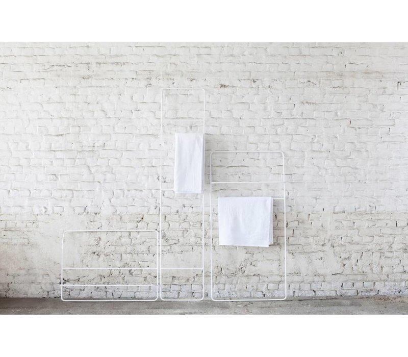 Serax handdoekrek hoog wit Juno