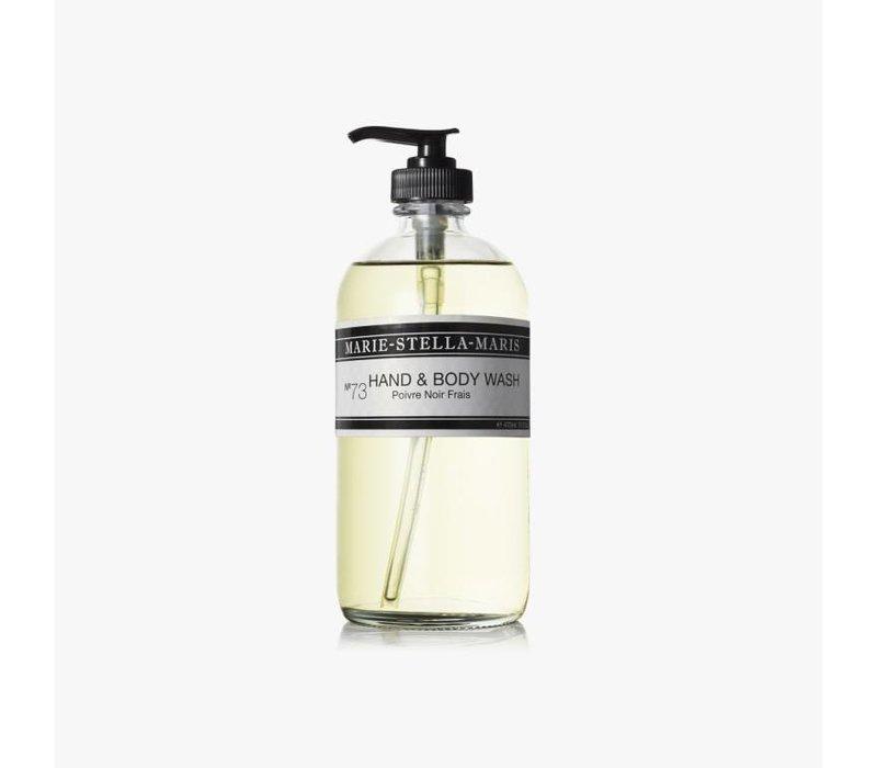 Marie-Stella-Maris Hand & Body Wash Poivre Noir Frais 470 ml