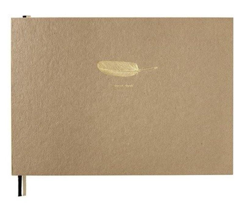BOOX | Large-pluim 'Gastenboek'-kraft