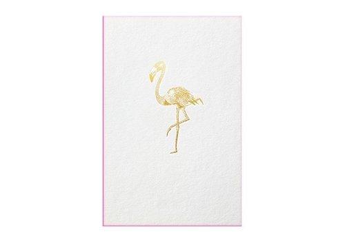 Papette FLAMINGO | Gold fever flamingo