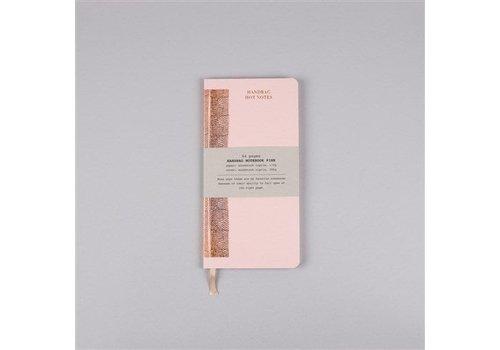 Papette Papette Hot Copper Handbag maxi notitieboekje pink