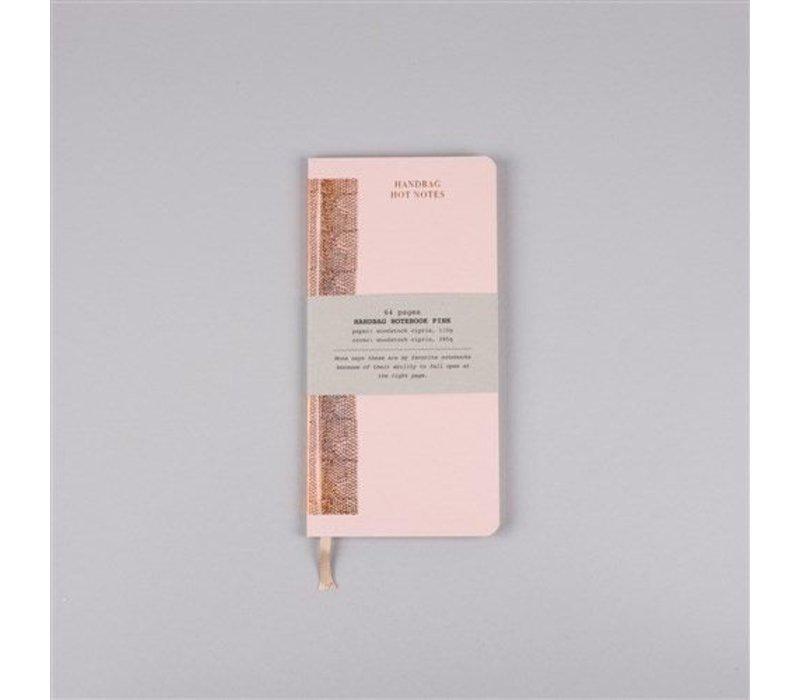 Papette Hot Copper Handbag maxi notitieboekje pink