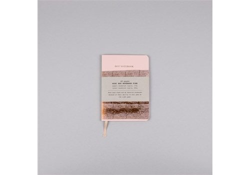 Papette Hot Copper Mini notebook A6 pink