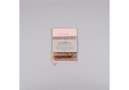 Papette Papette Hot Copper Mini notitieboekje A6 pink