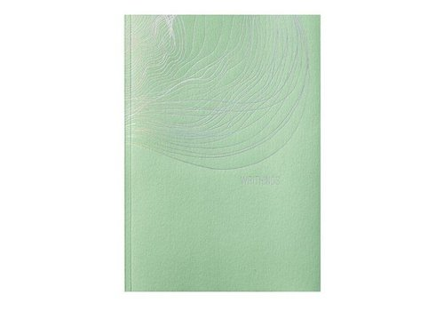 Papette Greensleeves A5 notebook lichtgroen