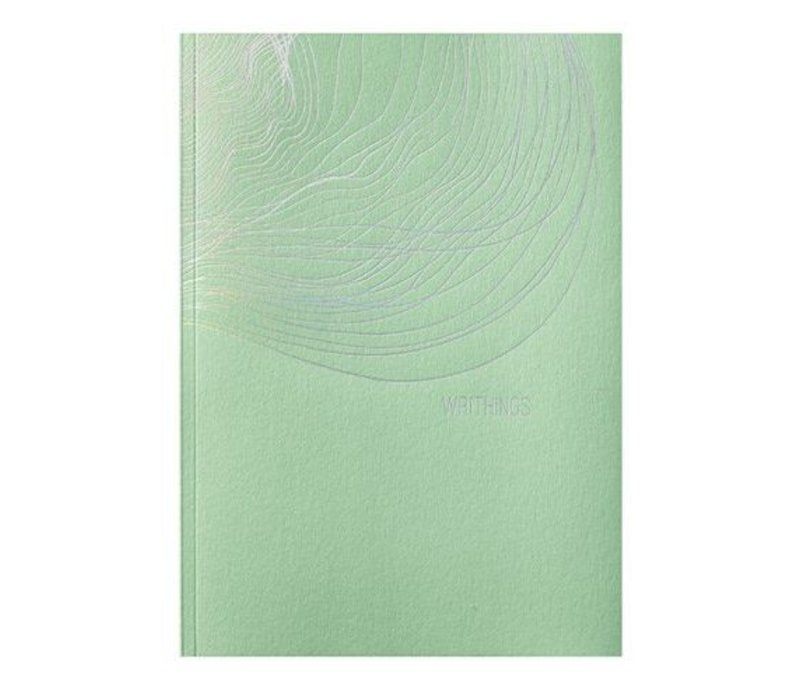 Greensleeves A5 notebook lichtgroen