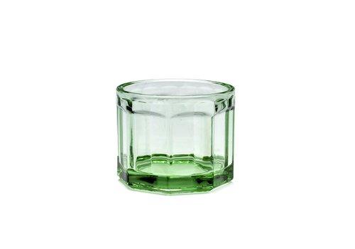 Serax Fish & fish glas Small groen serax
