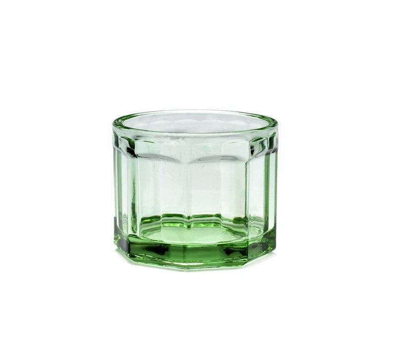 Fish & fish glas Small groen serax s/4