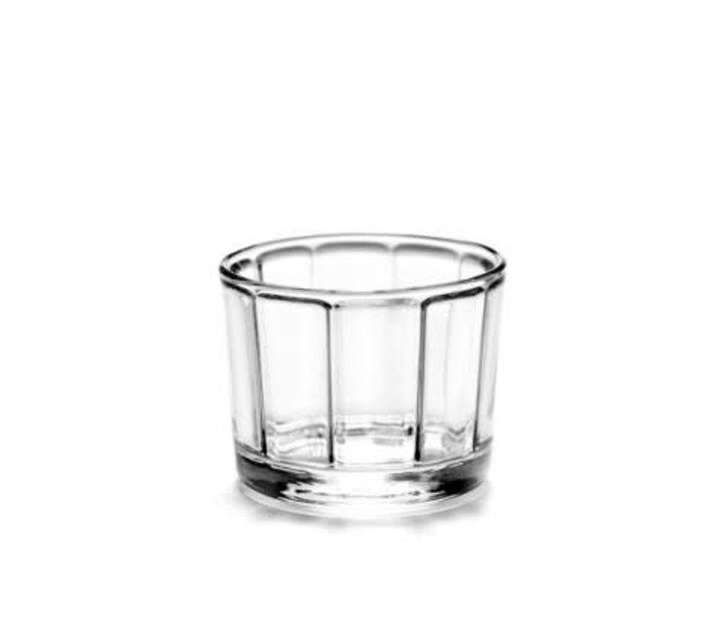 Serax glas surface laag tumbler Sergio Herman s/4