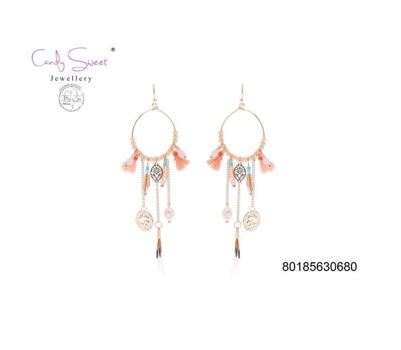 Earrings boho Candy Sweet