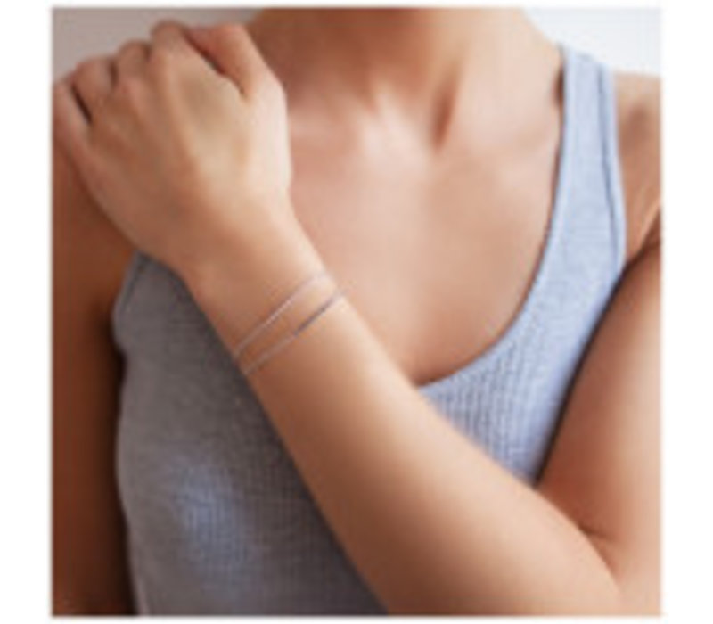 Diamanti Per Tutti Linea bracelet White Pink