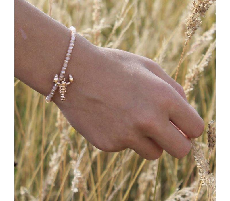 Bracelet Candy Sweet nude/scorpion