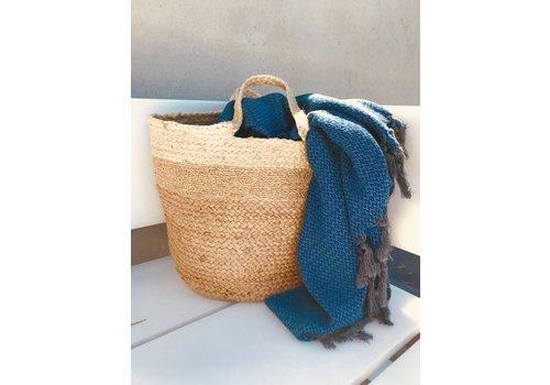 La Cabane de Stella Straw lurex Bag