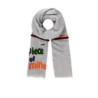 Pom Amsterdam sjaal Piece of Mine grijs