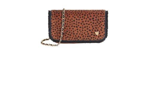 Pom Amsterdam Pom Amsterdam handtas Furry Leopard