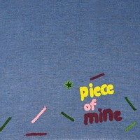 Pom Amsterdam shawl Piece of Mine Blue