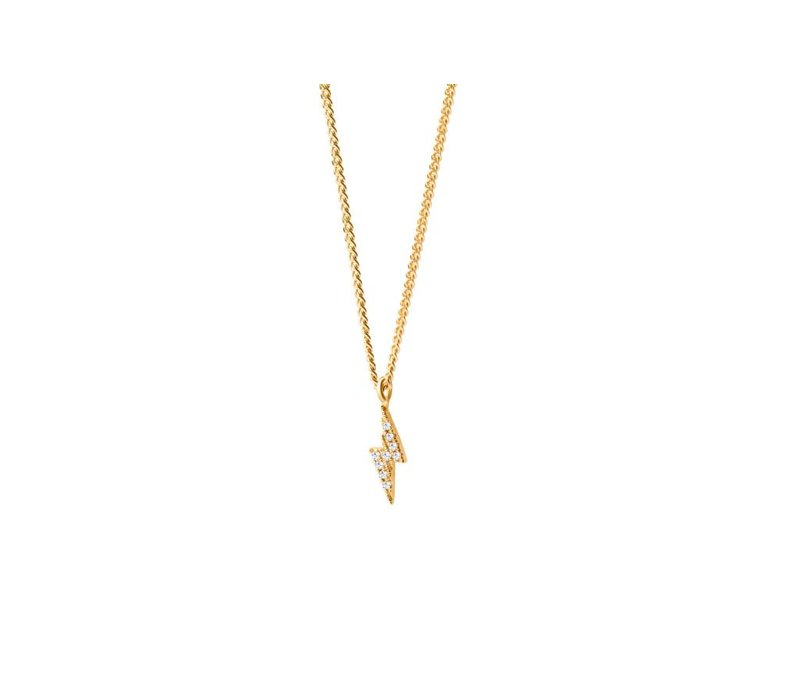 Diamanti Per Tutti Thunder Diamonds Necklace Yellow  40cm