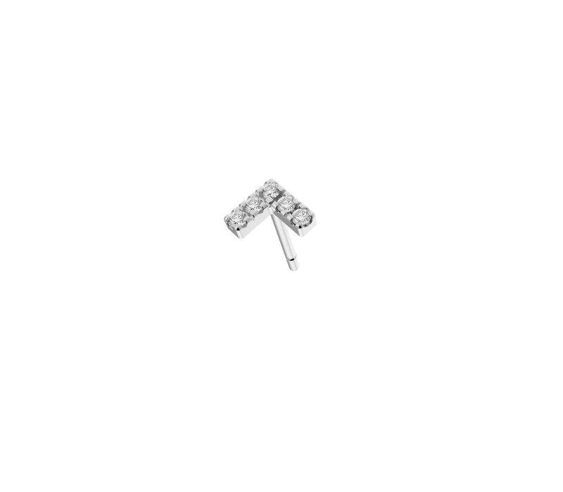 Diamanti Per Tutti Agra Earring Single White