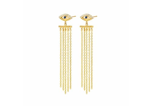 Diamanti per Tutti Diamanti Per Tutti Teardrop Earring Yellow
