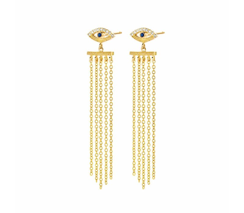 Diamanti Per Tutti Teardrop Earring Yellow