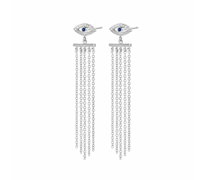 Diamanti Per Tutti Teardrop Earring White