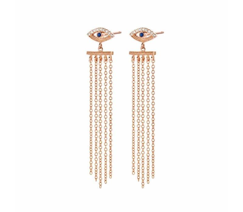 Diamanti Per Tutti Teardrop Earring Pink