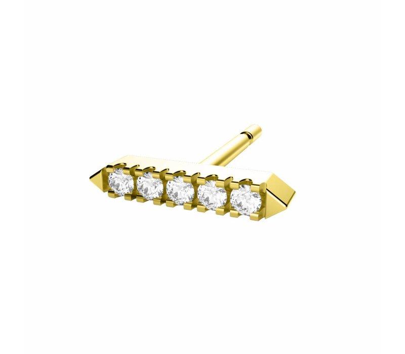 Diamanti Per Tutti Awake Earring Single Yellow