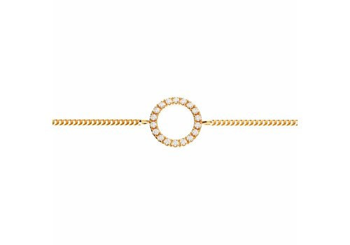 Diamanti per Tutti Diamanti Per Tutti Small Full Circle of Life Bracelet Pink