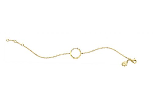 Diamanti per Tutti Diamanti Per Tutti Small Circle of Life Bracelet Yellow 16 cm