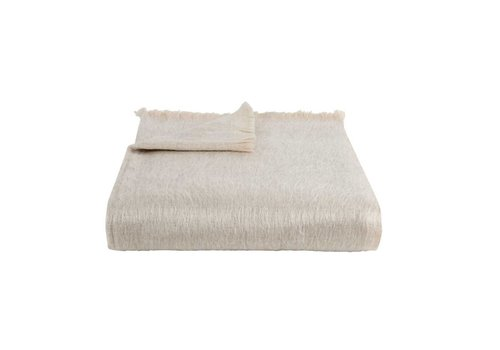 Bufandy Bufandy Alpaca Sjaal Fabian White Canvas