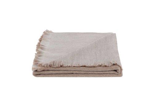 Bufandy Bufandy Alpaca Sjaal Fabian Doble Pink Seashell
