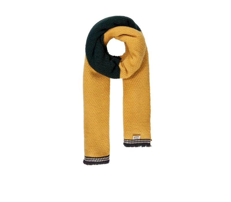 Pom Amsterdam Knitted Colourblock Yellow