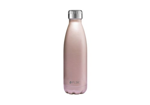 Flask Drinkfles  Flask Rose goud 500 ml