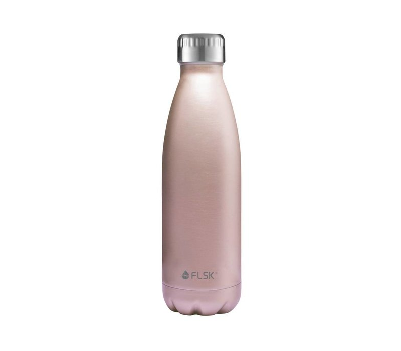 Drinkfles  Flask Rose goud 500 ml