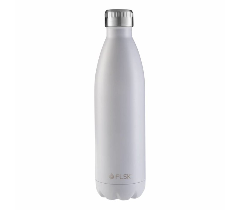 Drink bottle Flask white 500 ml