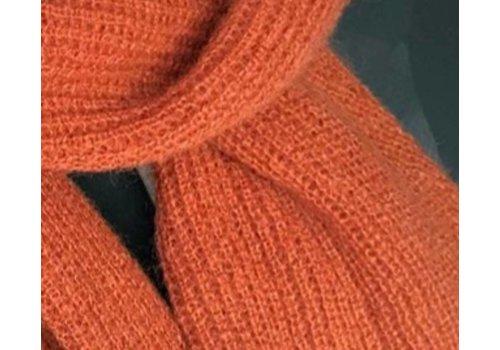 LesElles Knitwear LesElles Knitwear Shawl Jille  rusty