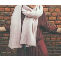 LesElles Knitwear Sjaal Hélène rose