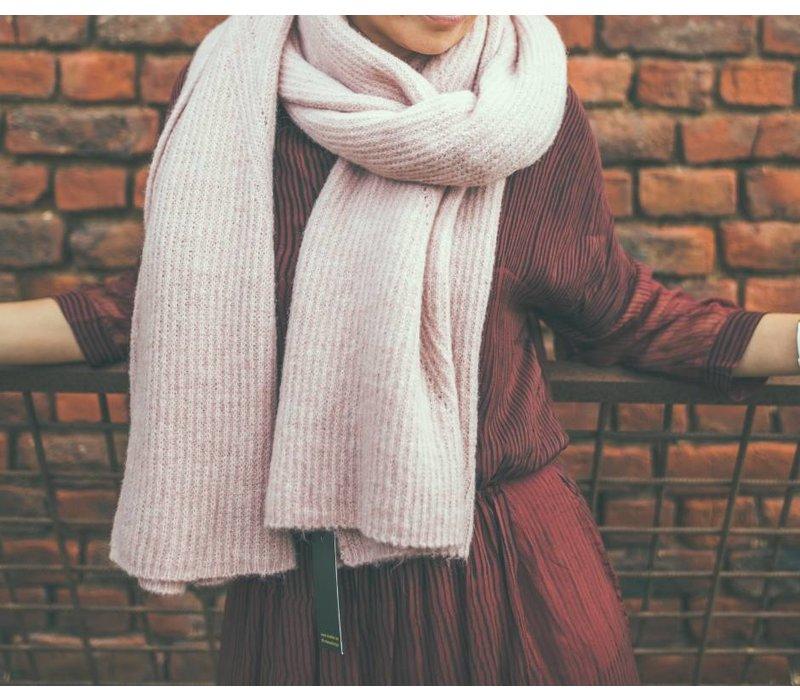 LesElles Knitwear Shawl Hélène rose