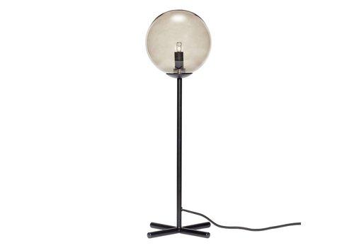 Hübsch Hübsch tafellamp metaal zwart