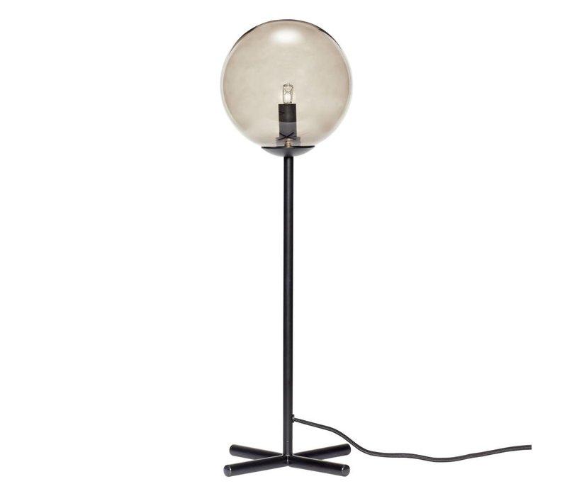 Hübsch tafellamp metaal zwart