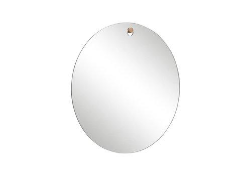 Hübsch Hübsch spiegel rond met haakje