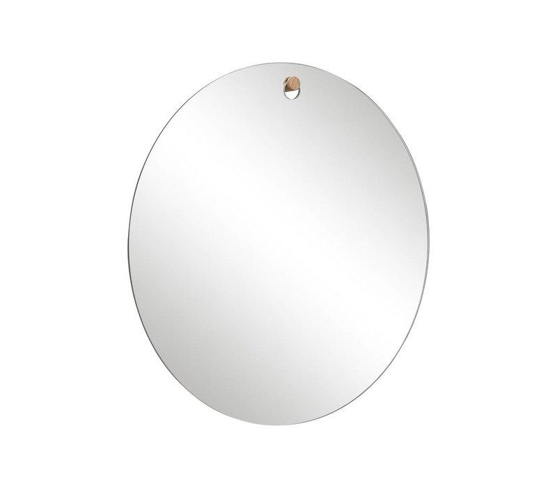 Hübsch spiegel rond met haakje