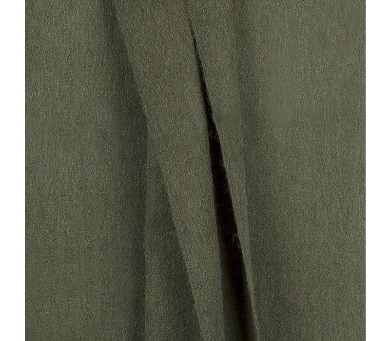 Bufandy sjaal Fabian dark olive