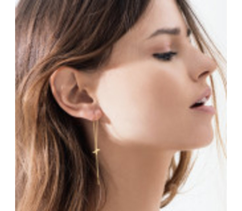 Diamanti Per Tutti X-ray single oorbel wit