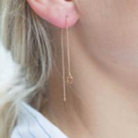 Diamanti Per Tutti O-ray Earring White