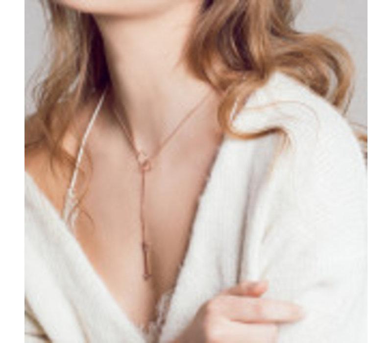 Diamanti Per Tutti Fly Necklace-White
